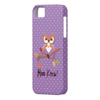 Cubierta fresca del iPhone 5 del búho de la iPhone 5 Fundas