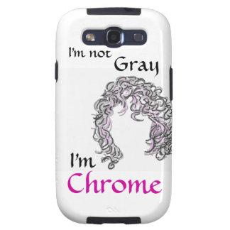 Cubierta gris del teléfono celular del orgullo del samsung galaxy s3 carcasa