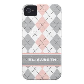 Cubierta gris rosada de la casamata del iPhone 4 d Case-Mate iPhone 4 Protectores