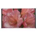 Cubierta hermosa de IPad de los rododendros