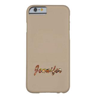 Cubierta individual del iPhone del estilo de Funda Barely There iPhone 6