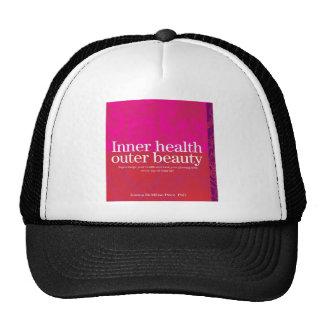 Cubierta interna de la salud gorras de camionero