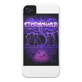 "Cubierta intrépida ""Stormchaser "" de Blackberry Case-Mate iPhone 4 Cobertura"