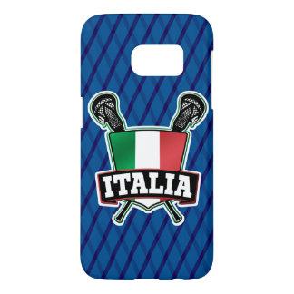 Cubierta italiana del teléfono de LaCrosse de la Fundas Samsung Galaxy S7