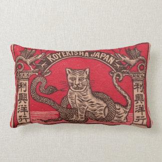 Cubierta japonesa de la caja de cerillas del cojín