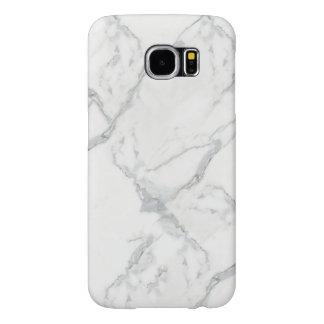 cubierta limpia de moda elegante de mármol del funda samsung galaxy s6