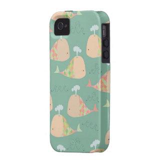 Cubierta linda del compañero del caso de Iphone 4  Vibe iPhone 4 Carcasas