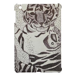 Cubierta linda del teléfono celular del tigre de b