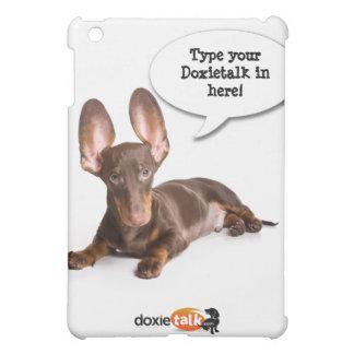 Cubierta lisa atenta de encargo del doxieiPad DT#6
