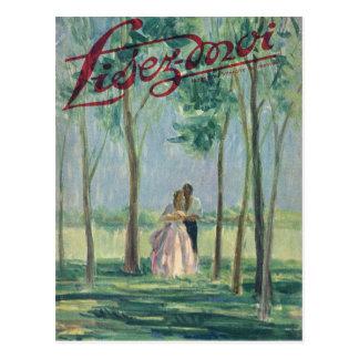 Cubierta, Lisez-Moi, romance entre los árboles Postales