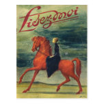 Cubierta, Lisez-Moi, señora a caballo Tarjetas Postales