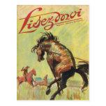 Cubierta, Lisez-Moi, vaquero, caballo del rodeo Tarjeta Postal