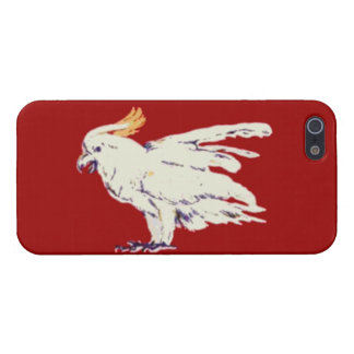 Cubierta lista del iPhone 5 chulos del Cockatoo de iPhone 5 Carcasa
