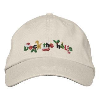 Cubierta los pasillos gorras de beisbol bordadas