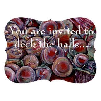 Cubierta los pasillos invitaciones personales
