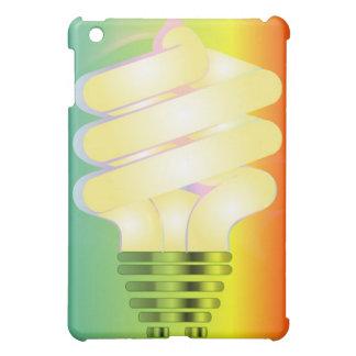 Cubierta luminosa del iPad de la bombilla