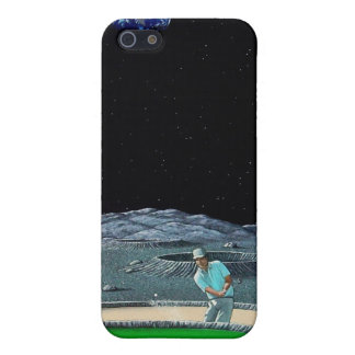Cubierta lunar de IPhone del putt iPhone 5 Funda