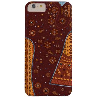 cubierta más del iPhone 6, africano, estilo Funda Para iPhone 6 Plus Barely There