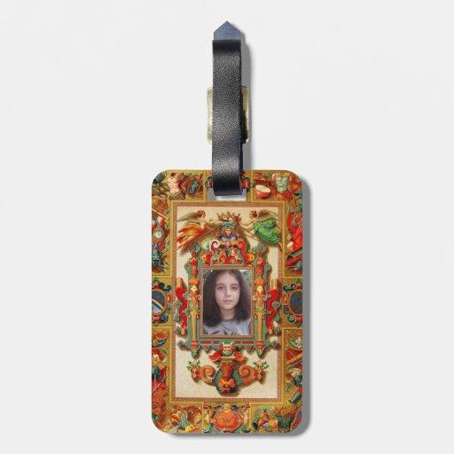 Cubierta medieval adaptable etiquetas maleta