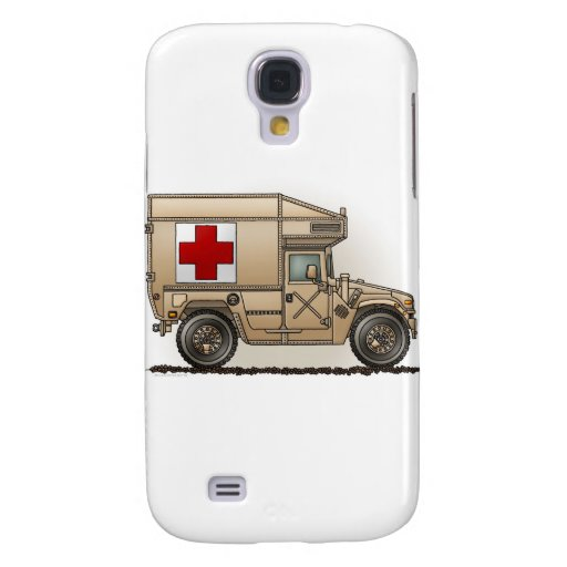 Cubierta militar de la ambulancia de Hummer Funda Para Galaxy S4
