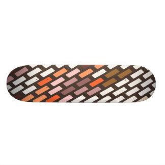 cubierta modelada elegante del monopatín patin personalizado