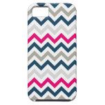 Cubierta moderna del zigzag iPhone4 de Chevron de  iPhone 5 Case-Mate Cárcasas