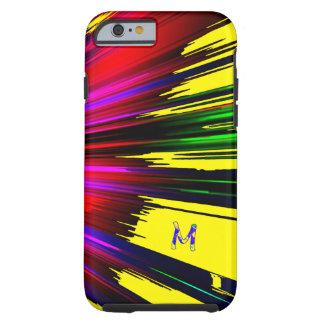 Cubierta multicolora del iPhone 6 del punto Funda De iPhone 6 Tough