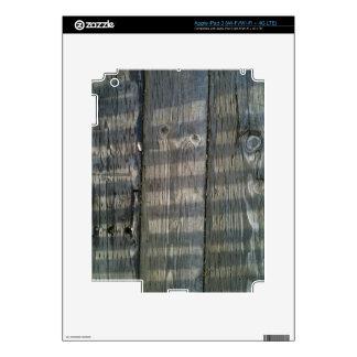 Cubierta naturalmente fresca de Surfaces_Wood iPad 3 Pegatinas Skins