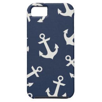 Cubierta náutica de muy buen gusto de la caja del iPhone 5 funda