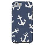 Cubierta náutica de muy buen gusto del caso del funda de iPhone 6 tough