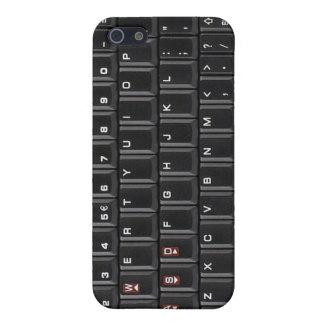 Cubierta negra iphone4 de la caja del teclado iPho iPhone 5 Cobertura