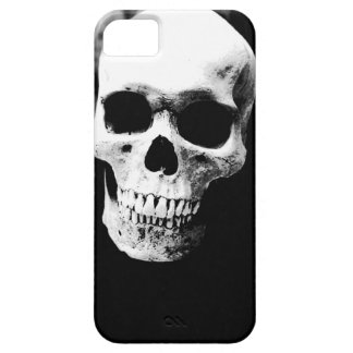 Cubierta negra y blanca del iPhone 5 del cráneo Funda Para iPhone SE/5/5s