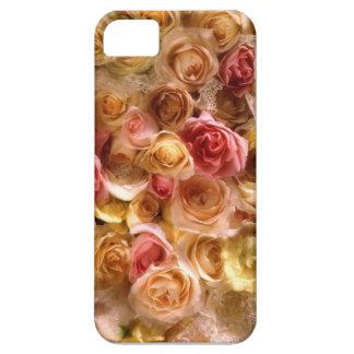 Cubierta nupcial rosada del iPhone 5 de los rosas iPhone 5 Carcasas