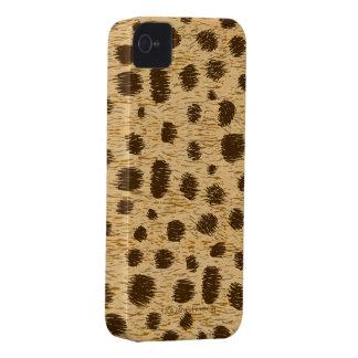 Cubierta o piel del caso del estampado de animales iPhone 4 carcasas