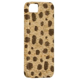 Cubierta o piel del caso del estampado de animales iPhone 5 funda