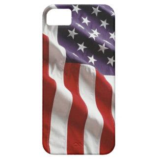 Cubierta orgullosa y patriótica de los E E U U Ip iPhone 5 Case-Mate Cárcasas