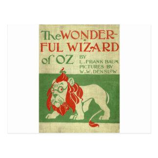 Cubierta original de mago de Oz Postal