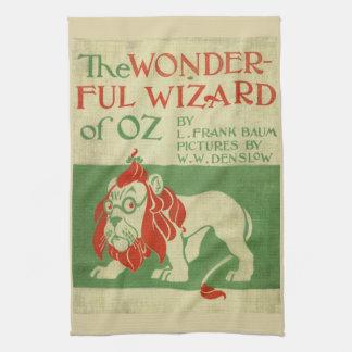 Cubierta original de mago de Oz Toalla De Mano
