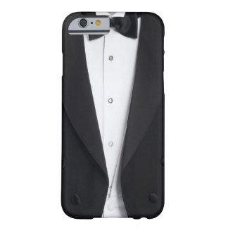 Cubierta para hombre de la caja del smoking funda para iPhone 6 barely there