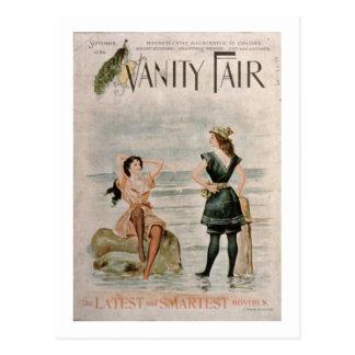 """Cubierta para """"Vanity Fair"""", septiembre de 1896 Postal"""