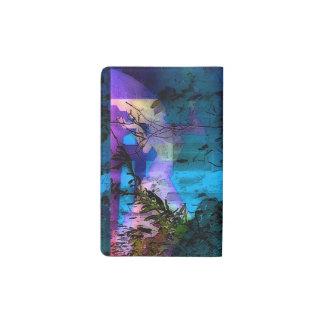 Cubierta personal del cuaderno de la diosa de funda para libreta y libreta pequeña moleskine