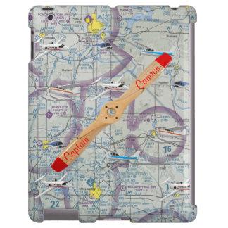 Cubierta personalizada del iPad de la aviación Funda Para iPad