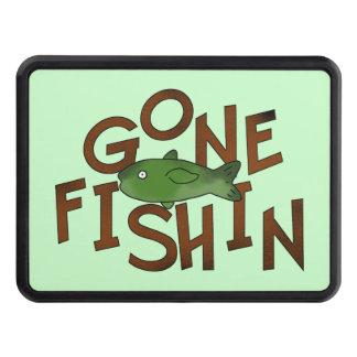 Cubierta pesquera ida del tirón del dibujo animado tapa de remolque