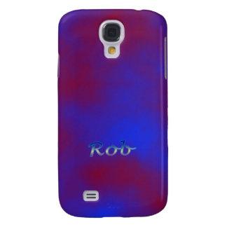 Cubierta púrpura de la galaxia de Samsung del Funda Para Galaxy S4