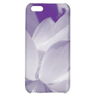 Cubierta púrpura del iPhone del lirio