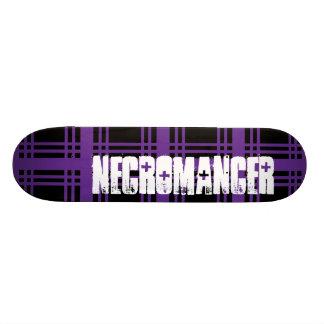 Cubierta (púrpura) del monopatín del nigromante patin personalizado