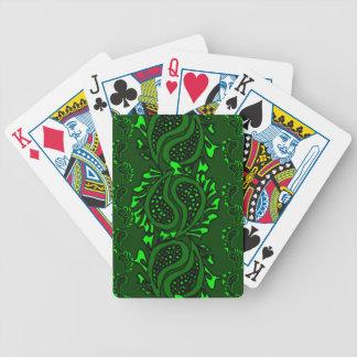 Cubierta que juega verde del navidad de las tarjet