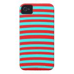 Cubierta rayada para Iphone 4/4S iPhone 4 Carcasas