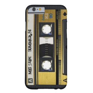 cubierta retra 1 de la cinta de la mezcla de la funda de iPhone 6 barely there