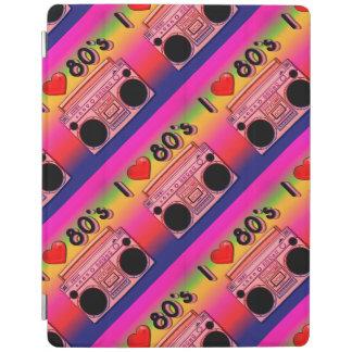 Cubierta retra del iPad de los años 80 de los años Cover De iPad